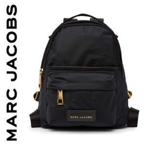 NWT Marc Jacobs Large Nylon backpack black